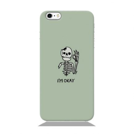 I'm Okay iPhone 6/6s Back cover