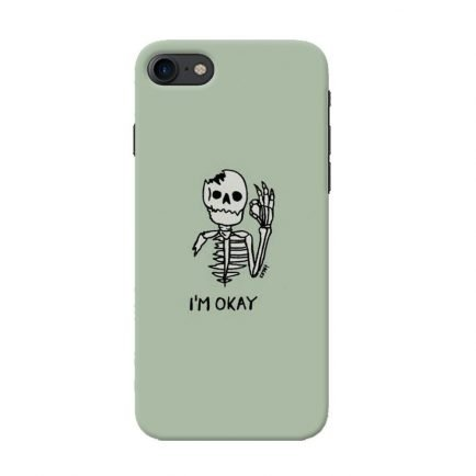 I'm Okay iPhone 7/8 Back cover