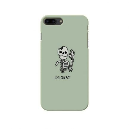 I'm Okay iPhone 7 plus Back cover