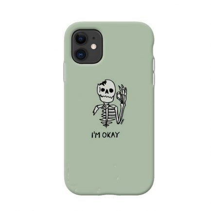 I'm Okay iPhone 11 Back cover