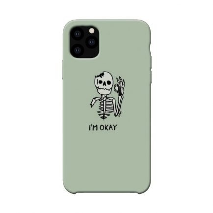 I'm Okay iPhone 11 pro Back cover
