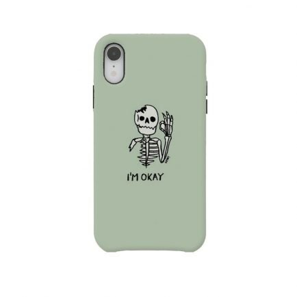 I'm Okay iPhone XR Back cover