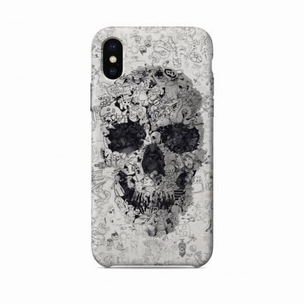 Skull iPhone X/XS/XS Max Back Cover