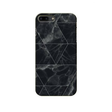 Black Marble iPhone 7 Plus Back Cover