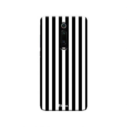 Vertical Black Stripes Redmi K20 Pro Back Cover
