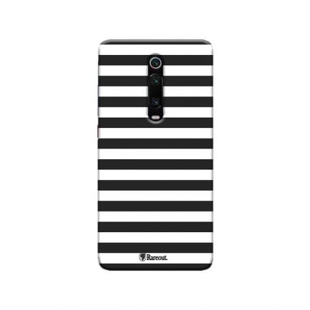 Horizontal Black Stripes Redmi K20 Pro Back Cover