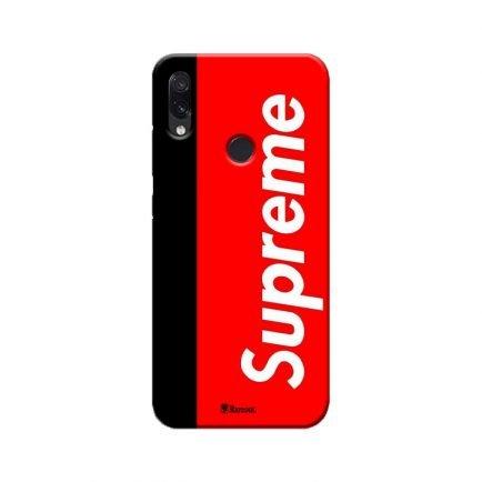 Supreme Redmi Note 7 Pro Back Cover