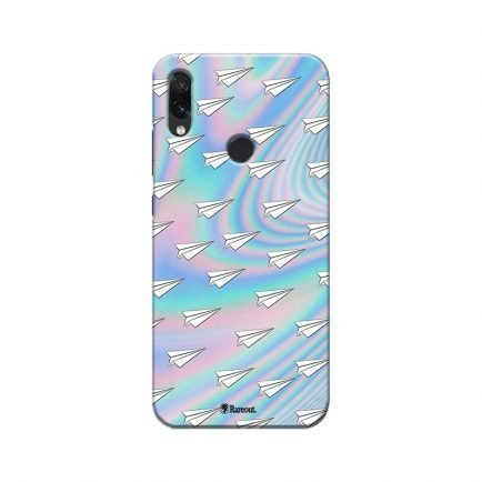 Linear Aircraft Doodle Redmi Note 7 Pro Back Cover