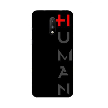 Human Oneplus 7 Back Cover