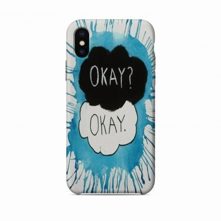 Okay? iPhone X/XS/XS Max Back Cover