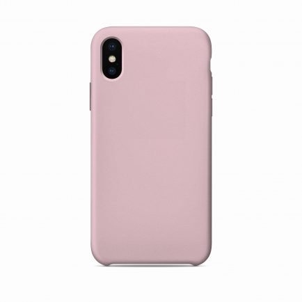 Pink Solid iPhone X/XS/XS Max Back Cover