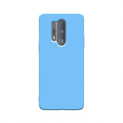 Blue Solid OnePlus 8 Pro Back Cover