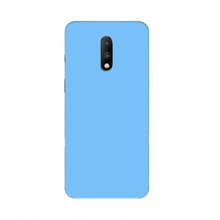 Blue Solid OnePlus 7 Back Cover