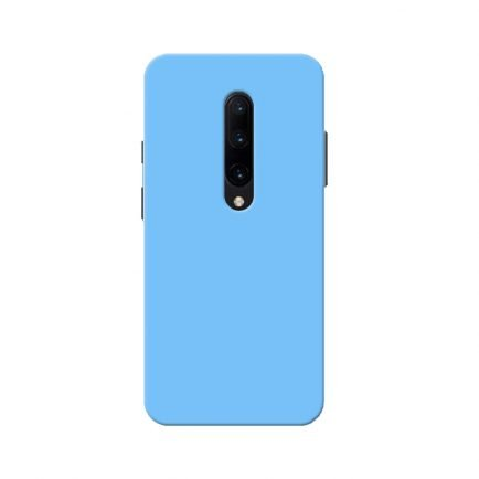 Blue Solid OnePlus 7 Pro Back Cover