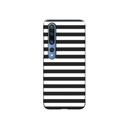 Horizontal Black Stripes MI 10 Back Cover