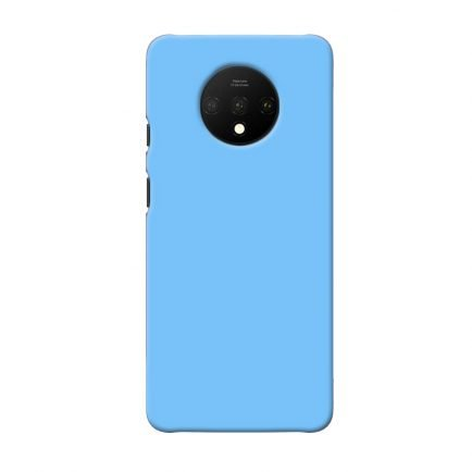 Blue Solid OnePlus 7T Back Cover
