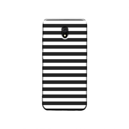 Horizontal Black Stripes Redmi 8A Back Cover